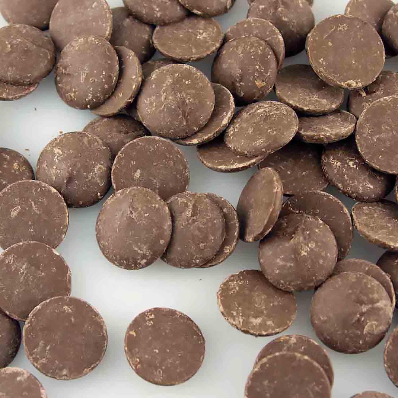 Merckens Yuccatan Real Dark Chocolate Buttons