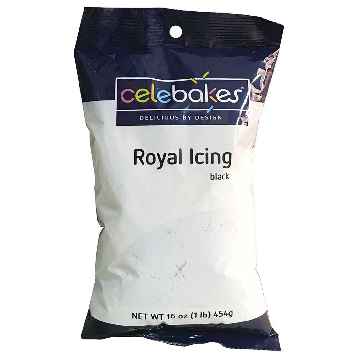 Black Royal Icing Mix