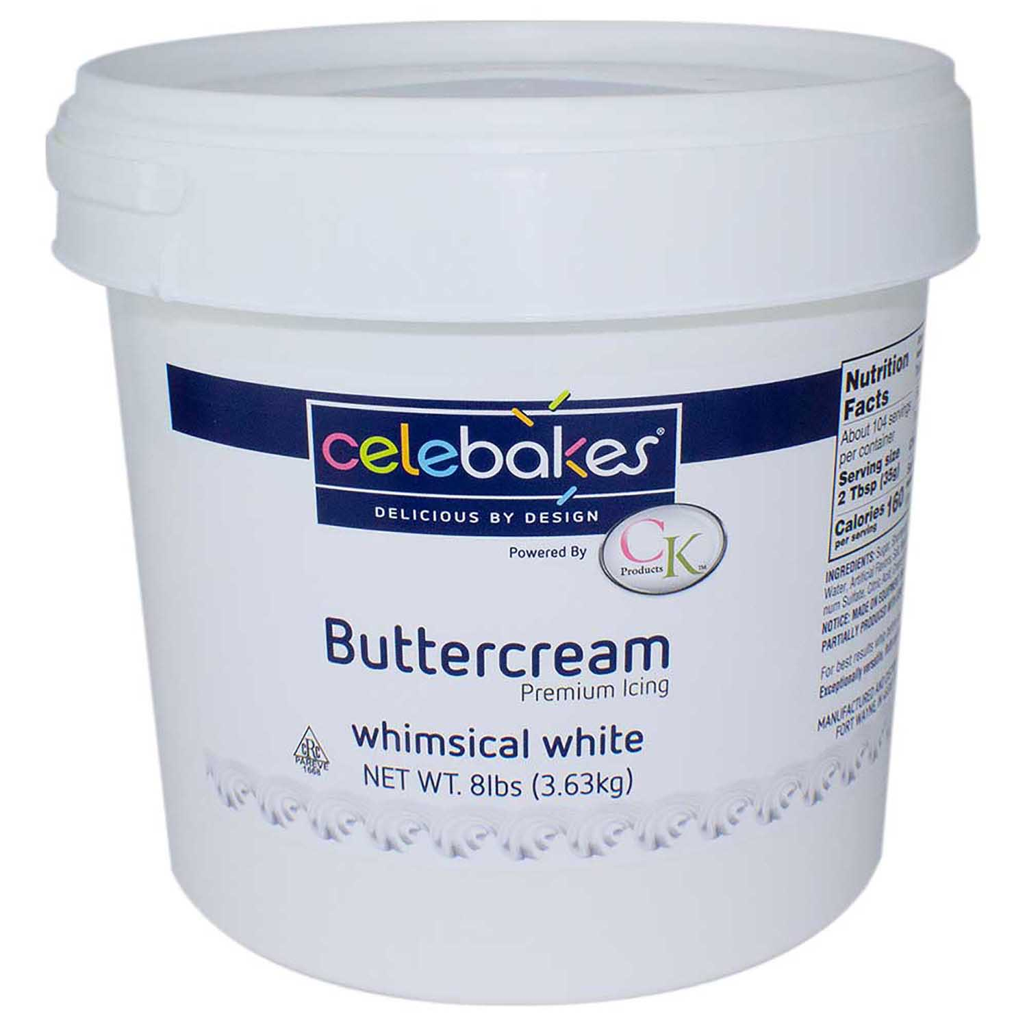 White Decorating Buttercream Icing