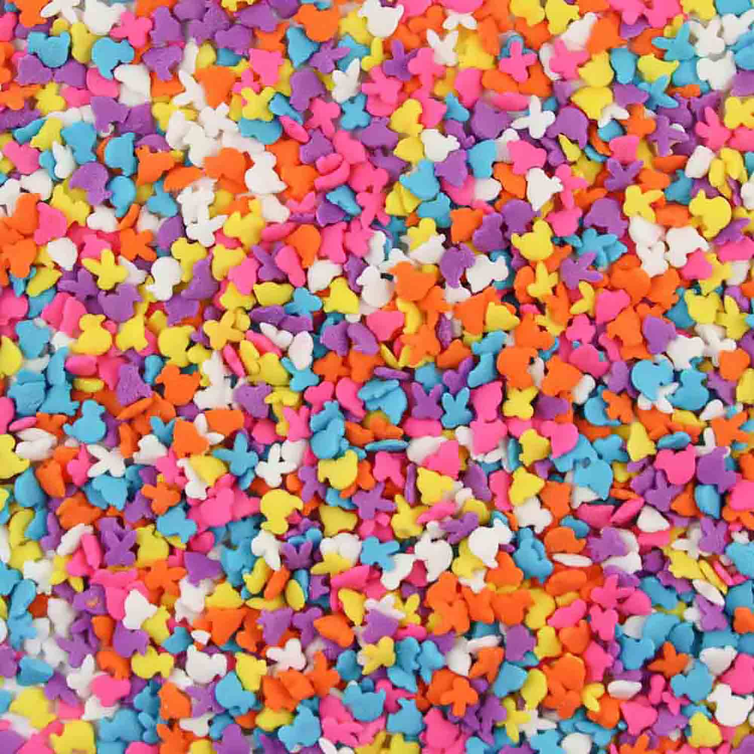 Mixed Easter Assortment Edible Confetti Sprinkles