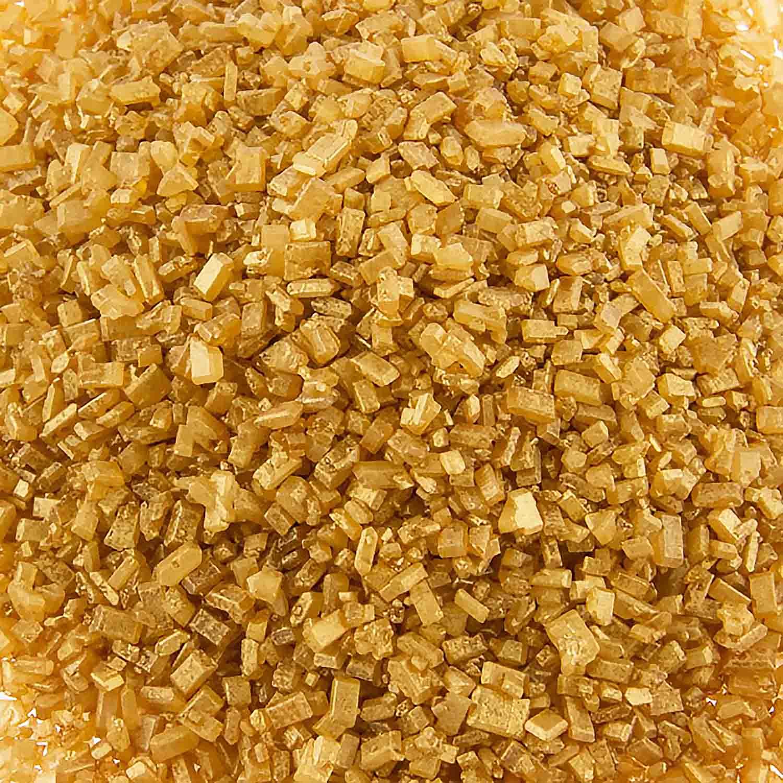 Shimmering Gold Coarse Sugar/ Sugar Crystals