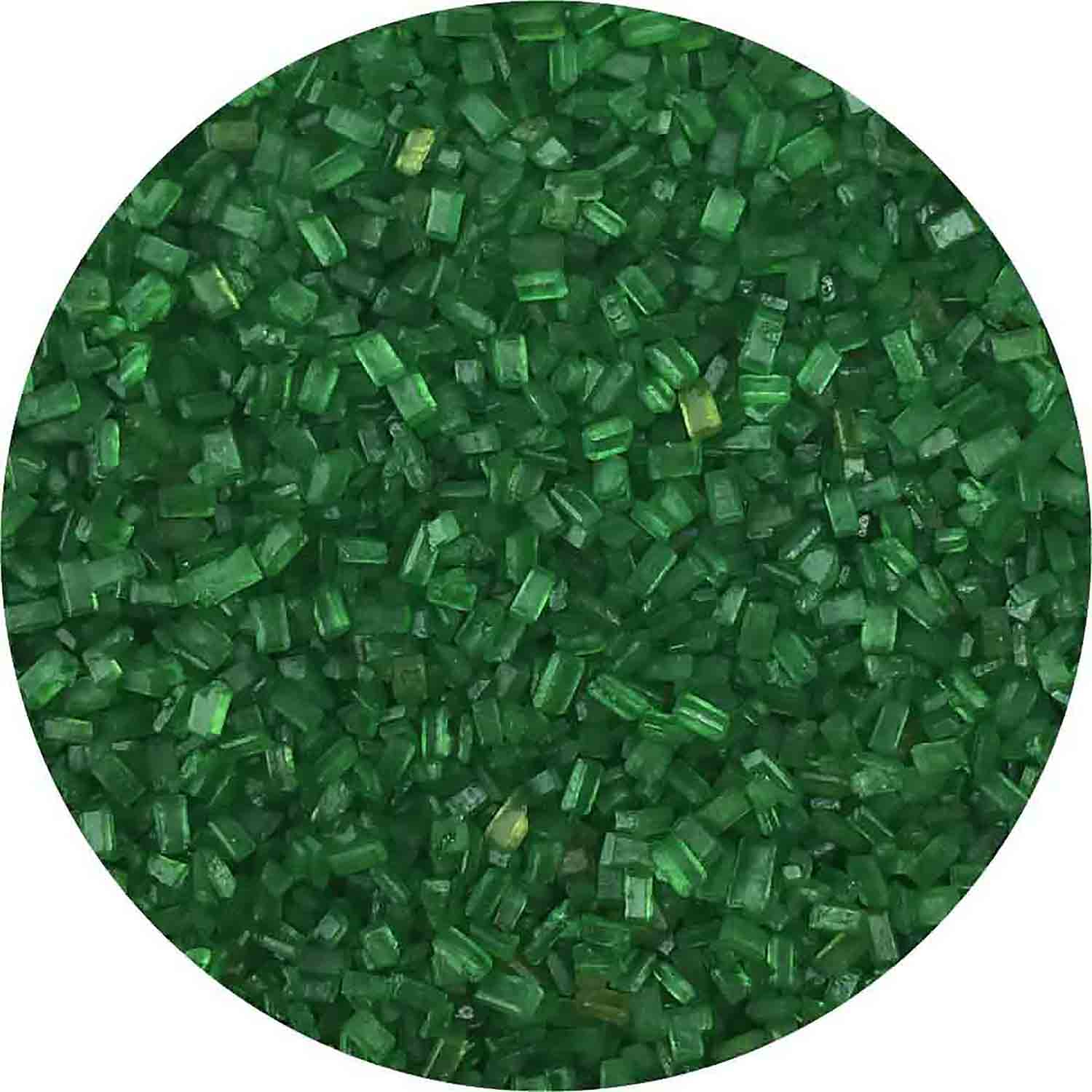 Green Coarse Sugar / Sugar Crystals