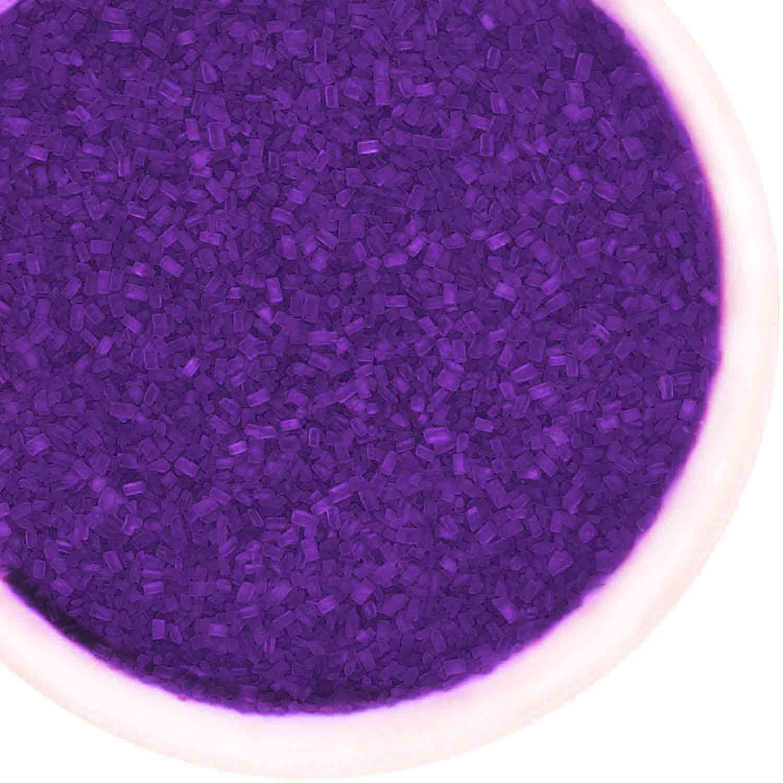 Violet Coarse Sugar / Sugar Crystals