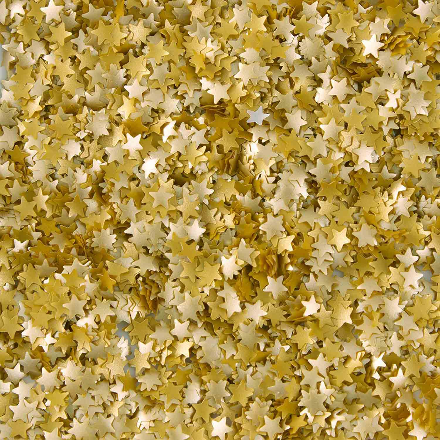 Gold Stars Edible Glitter