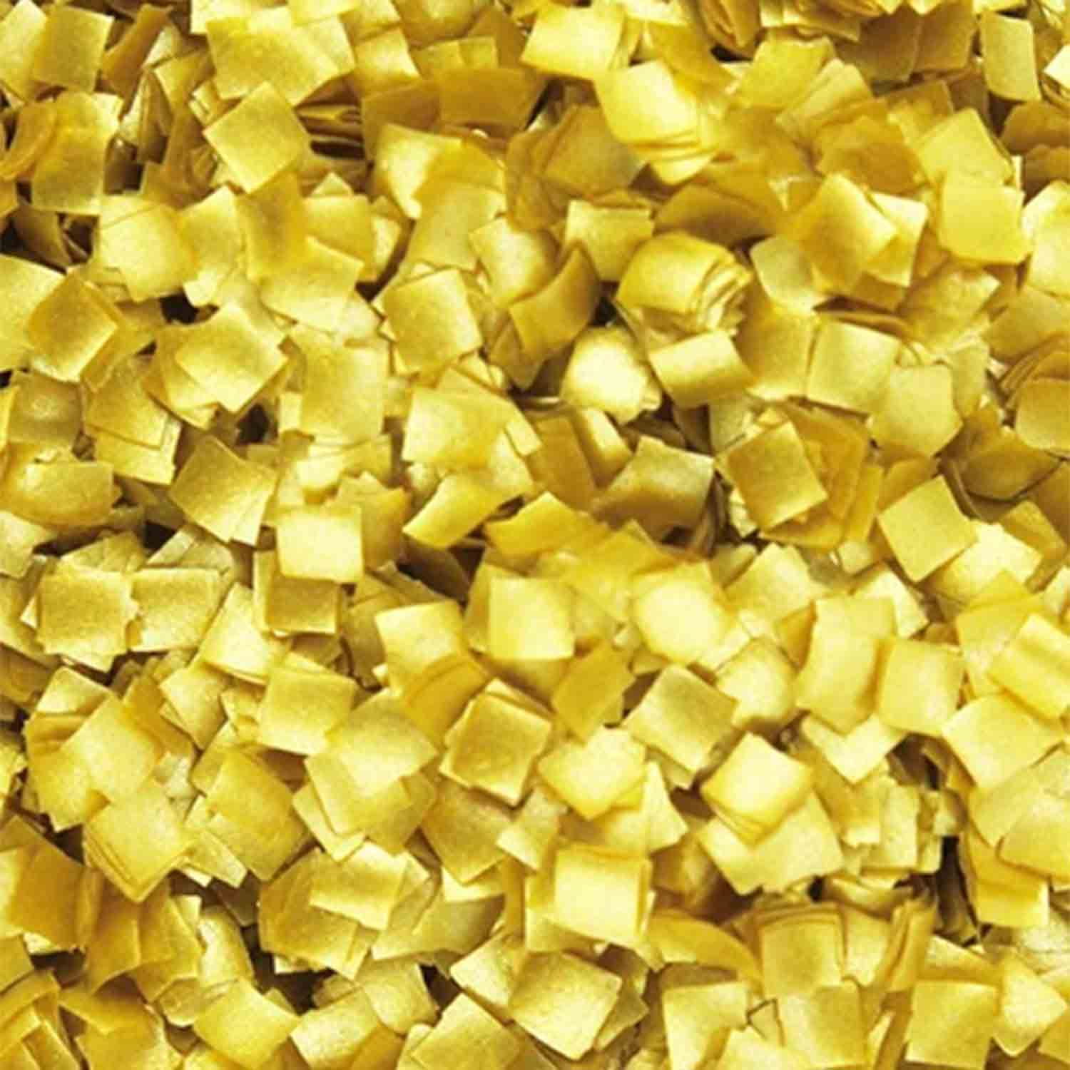 Gold Squares Edible Glitter