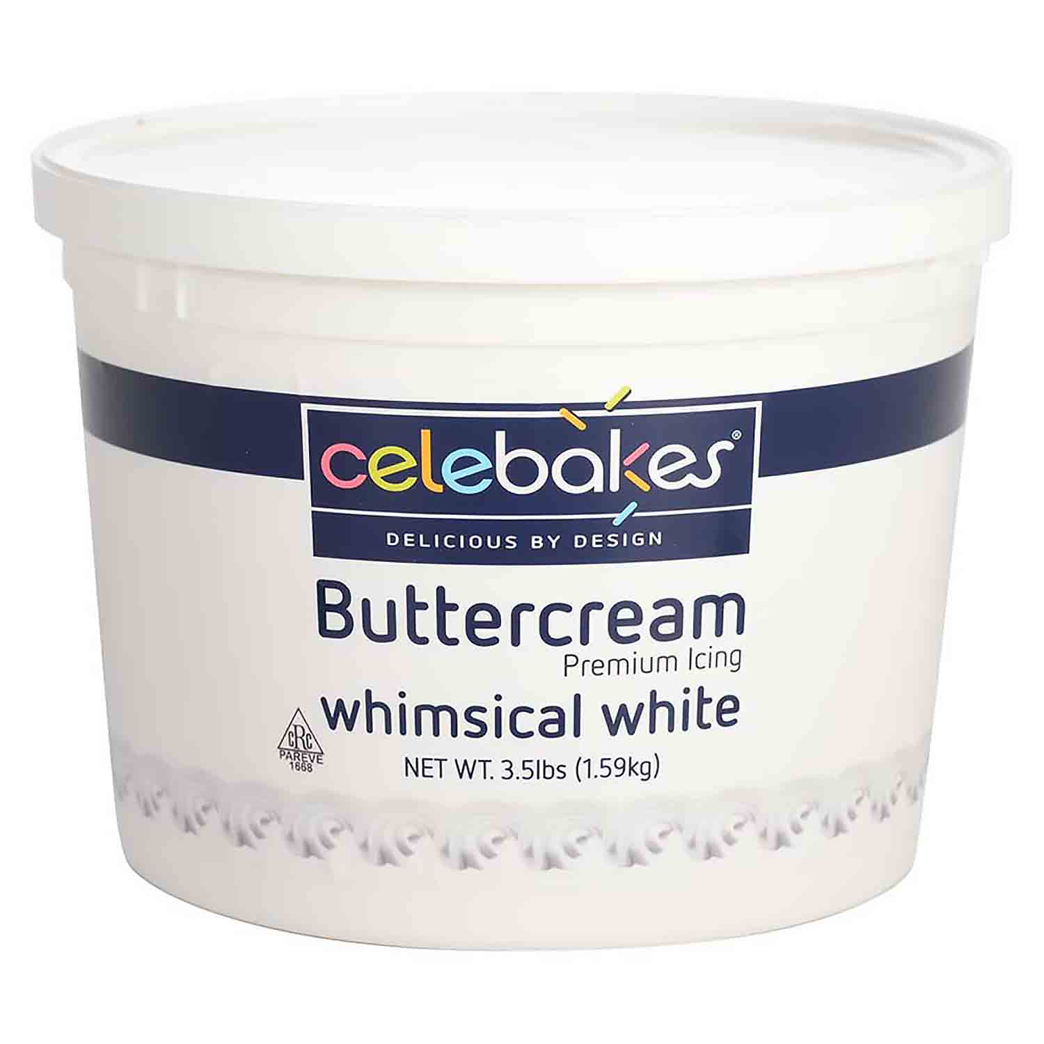 Whimsical White Buttercream Premium Icing