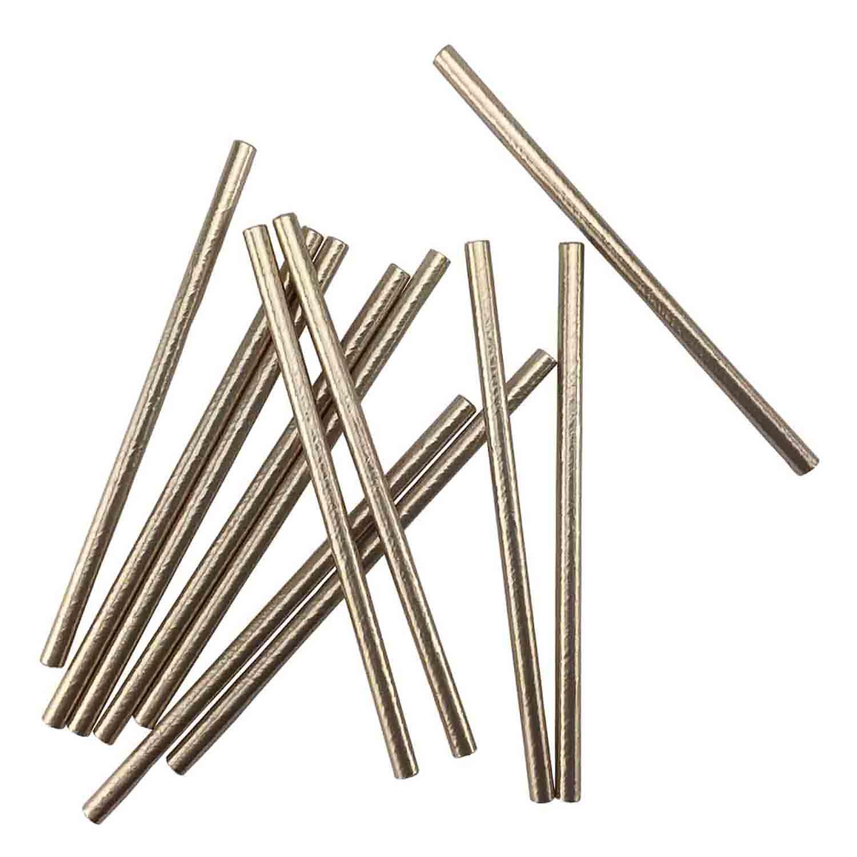 Metallic Gold Paper Straws