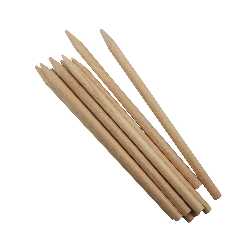 "Wooden Candy Apple Sticks 5.5"""