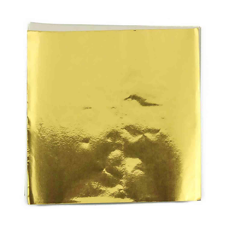 """3 x 3"""" Foil Wrapper Gold"""
