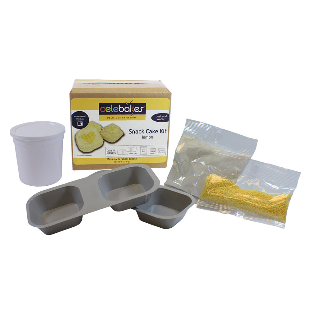 Lemon Snack Cake Kit