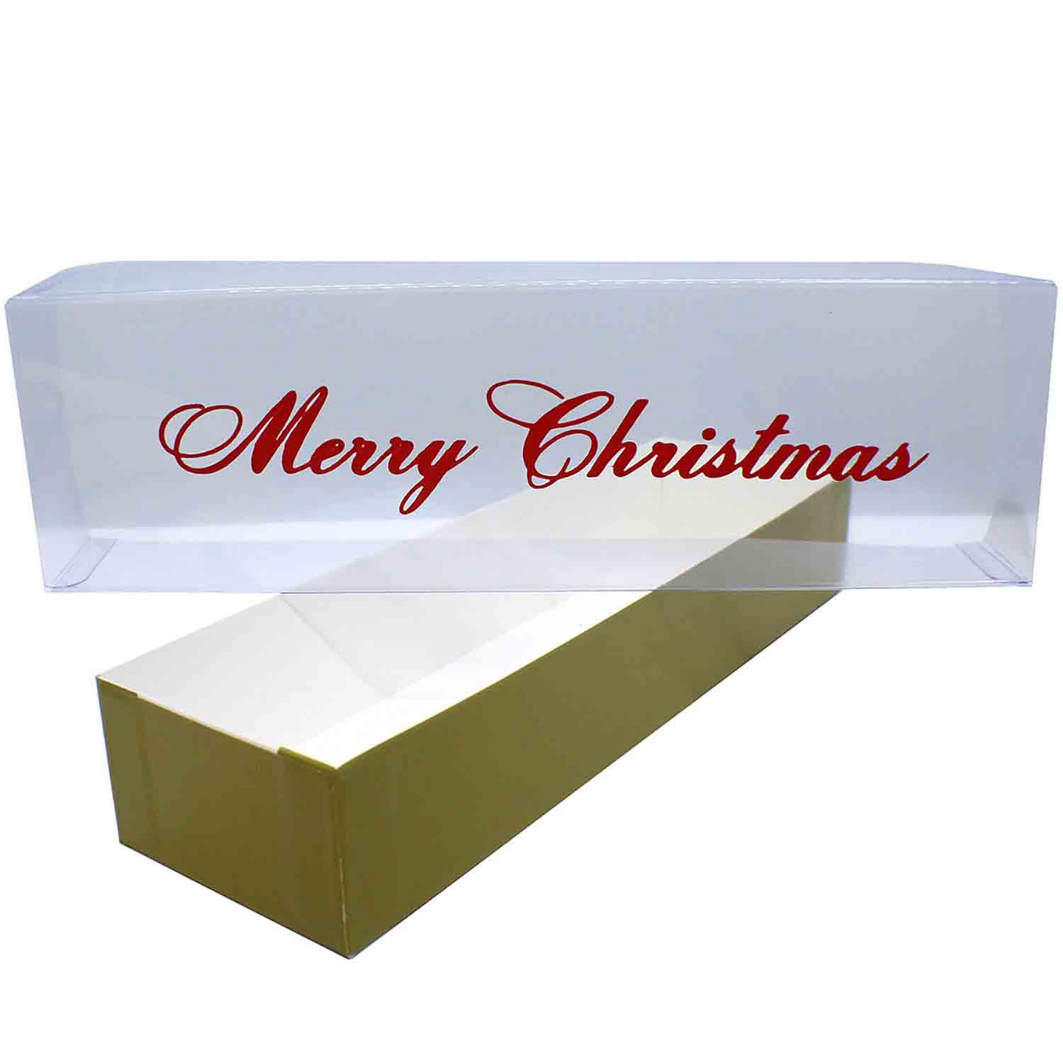 Merry Christmas Poly Board Box