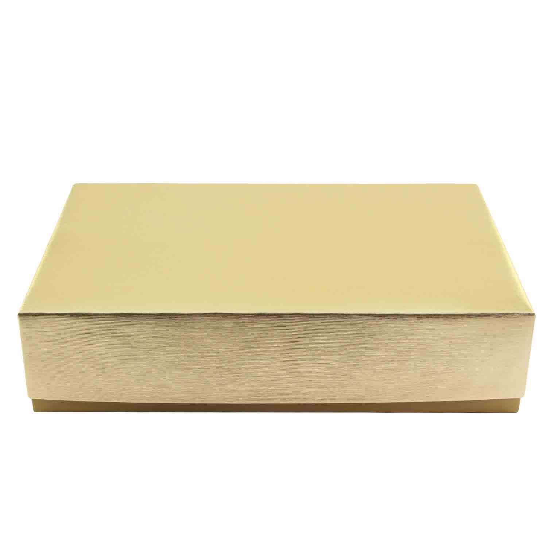 2 lb. Gold Candy Box