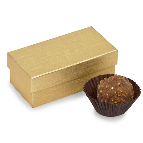 2 Pc Gold Candy Box