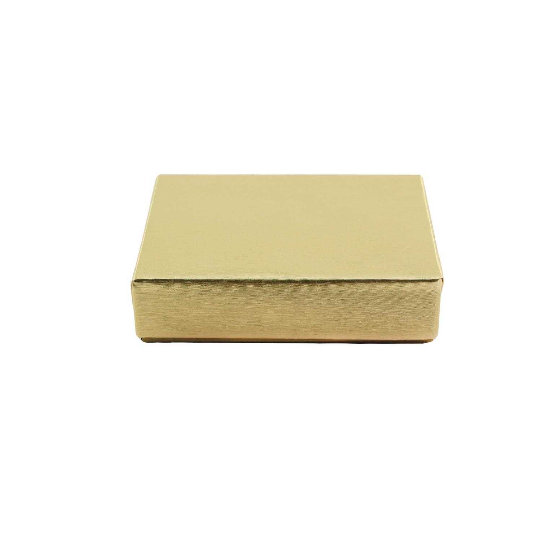 1/4 lb.  Gold Candy Box
