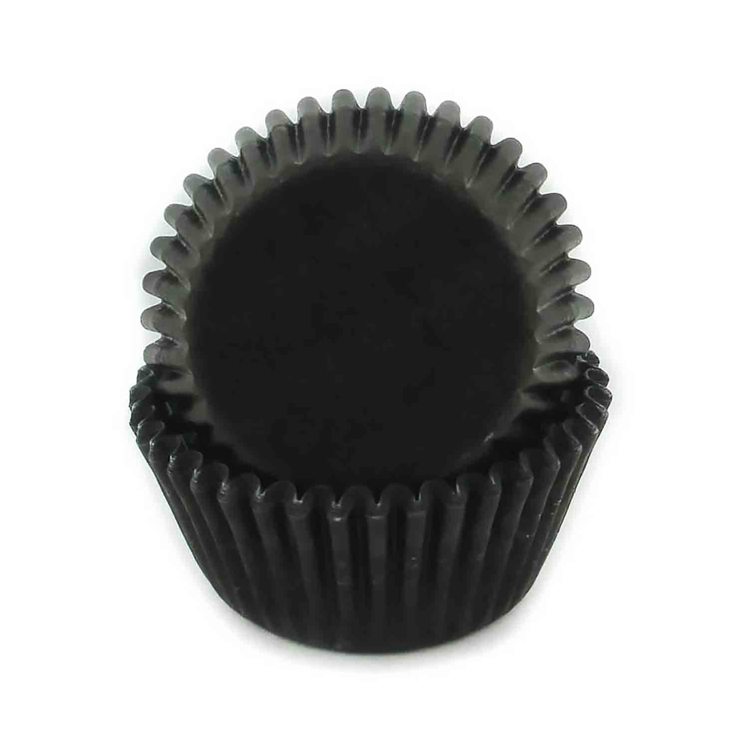 Black Mini Baking Cup