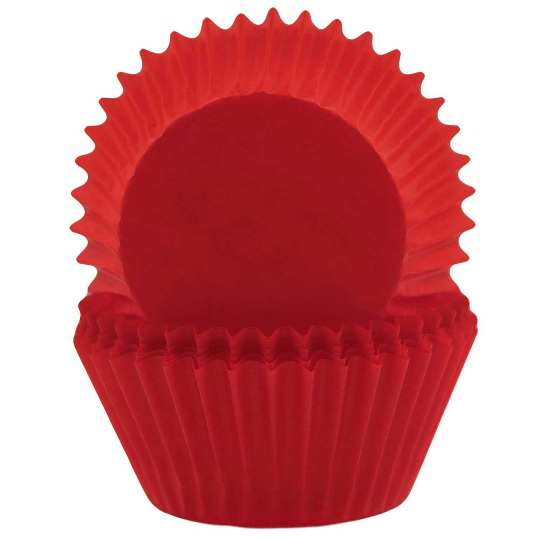 Deep Red Standard Baking Cups