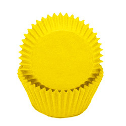 Yellow Standard Baking Cups
