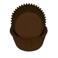 Dark Brown Standard Baking Cups