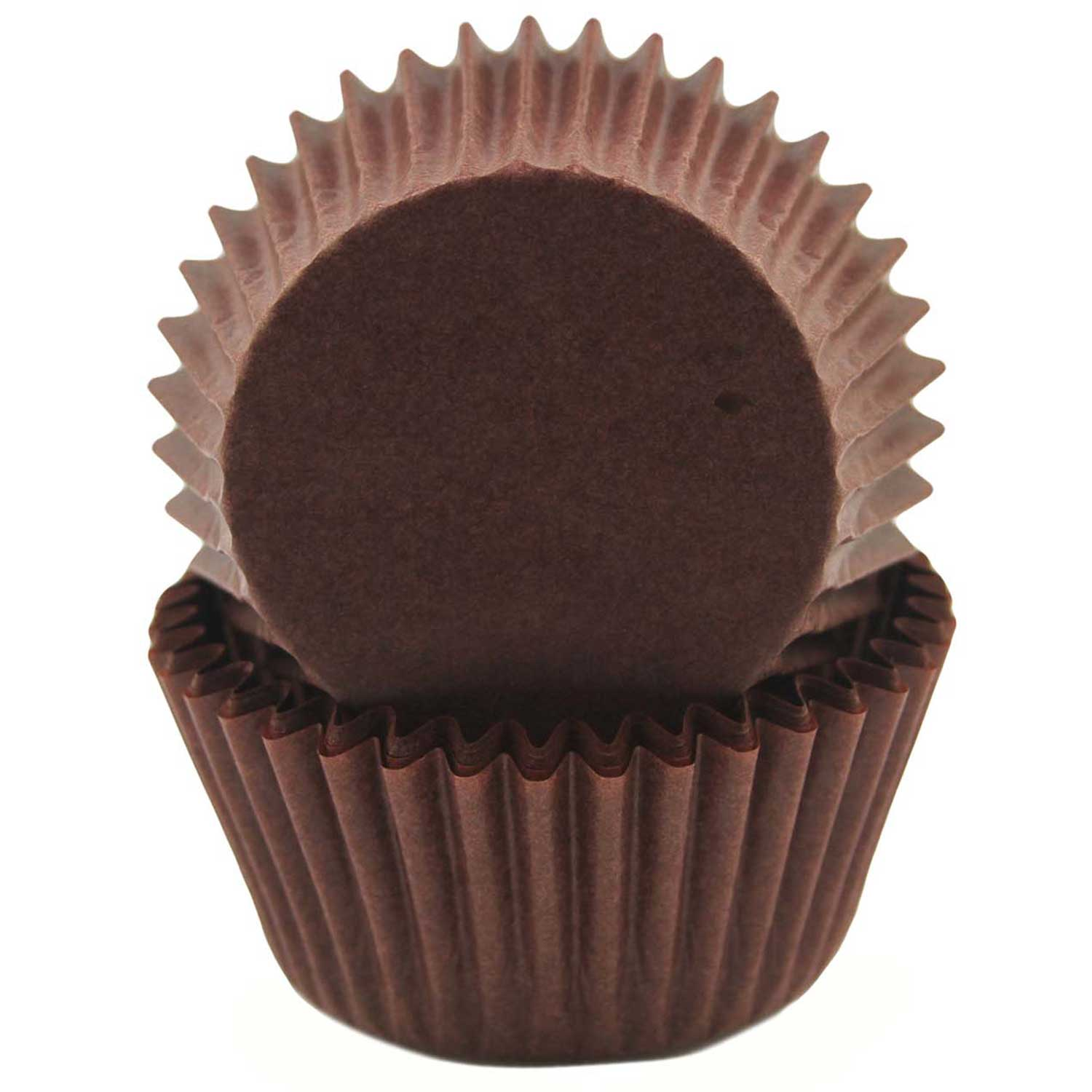 Dark Brown Standard Baking Cups