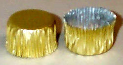 Gold Foil Candy Cup #3