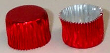 Red Foil Candy Cup #3