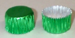 Green Foil Candy Cup #3