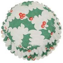 #601 Christmas Holly Candy Cup