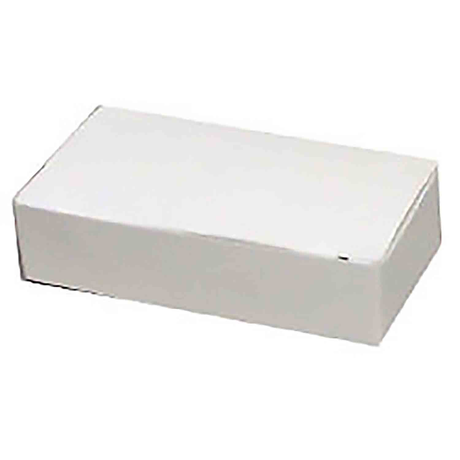 1/4 lb. White Candy Box