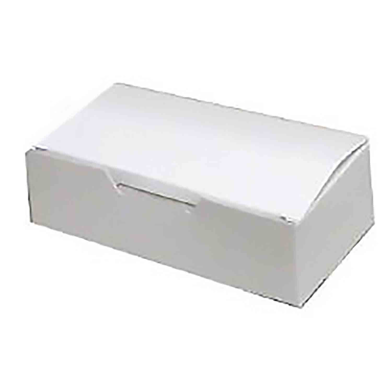 1 lb. White Candy Box