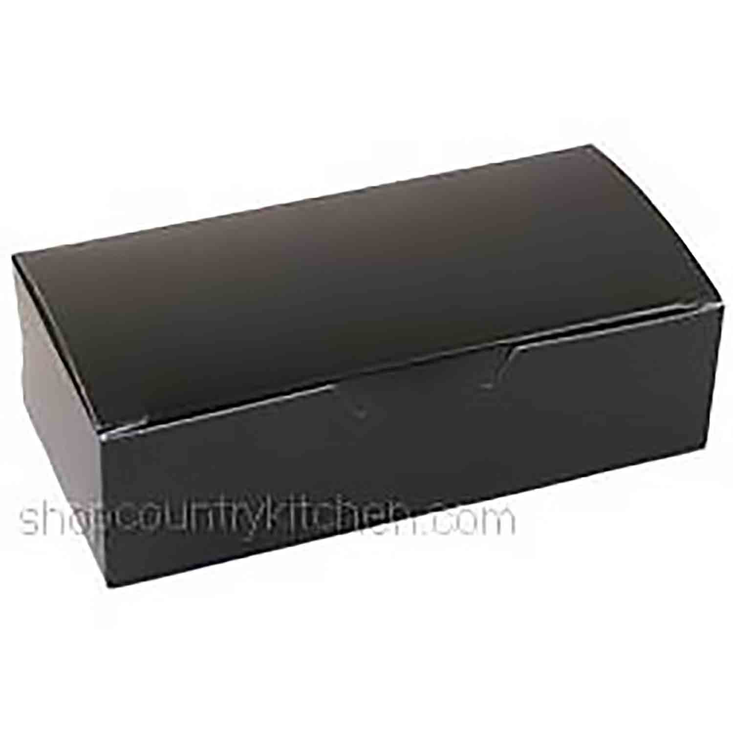 1 lb. Black Candy Box