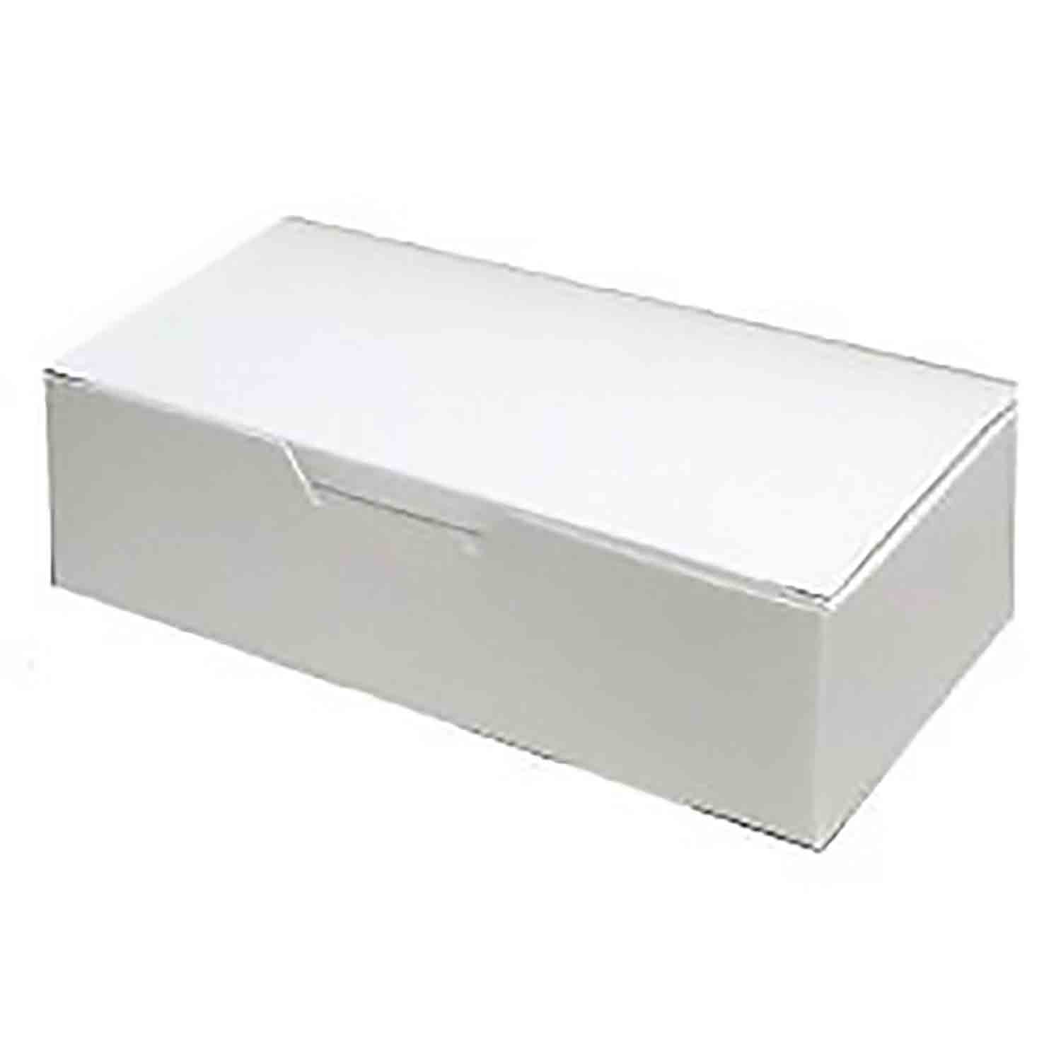 1 1/2 lb. White Candy Box