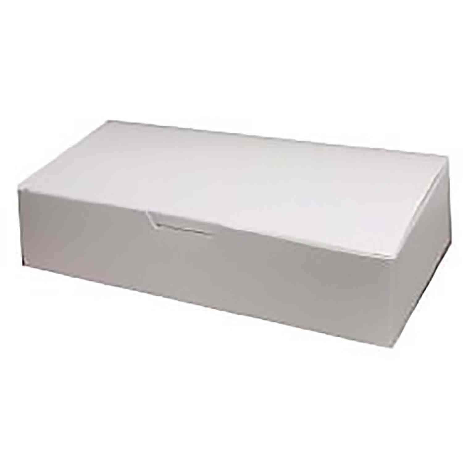 2 lb. White Candy Box