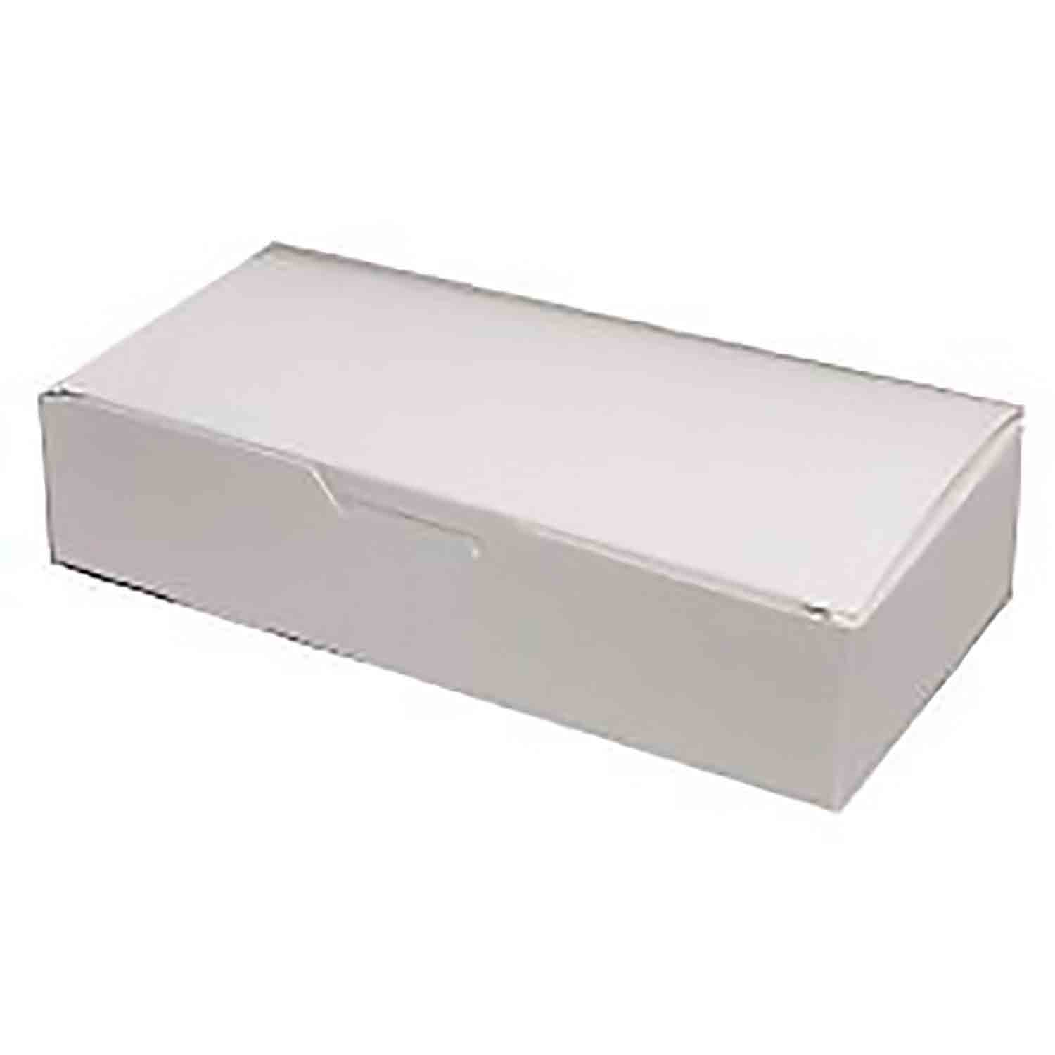 3 lb. White Candy Box