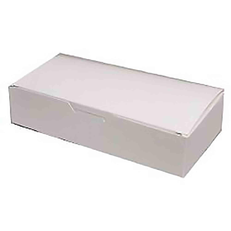 3 lb. White Candy Box