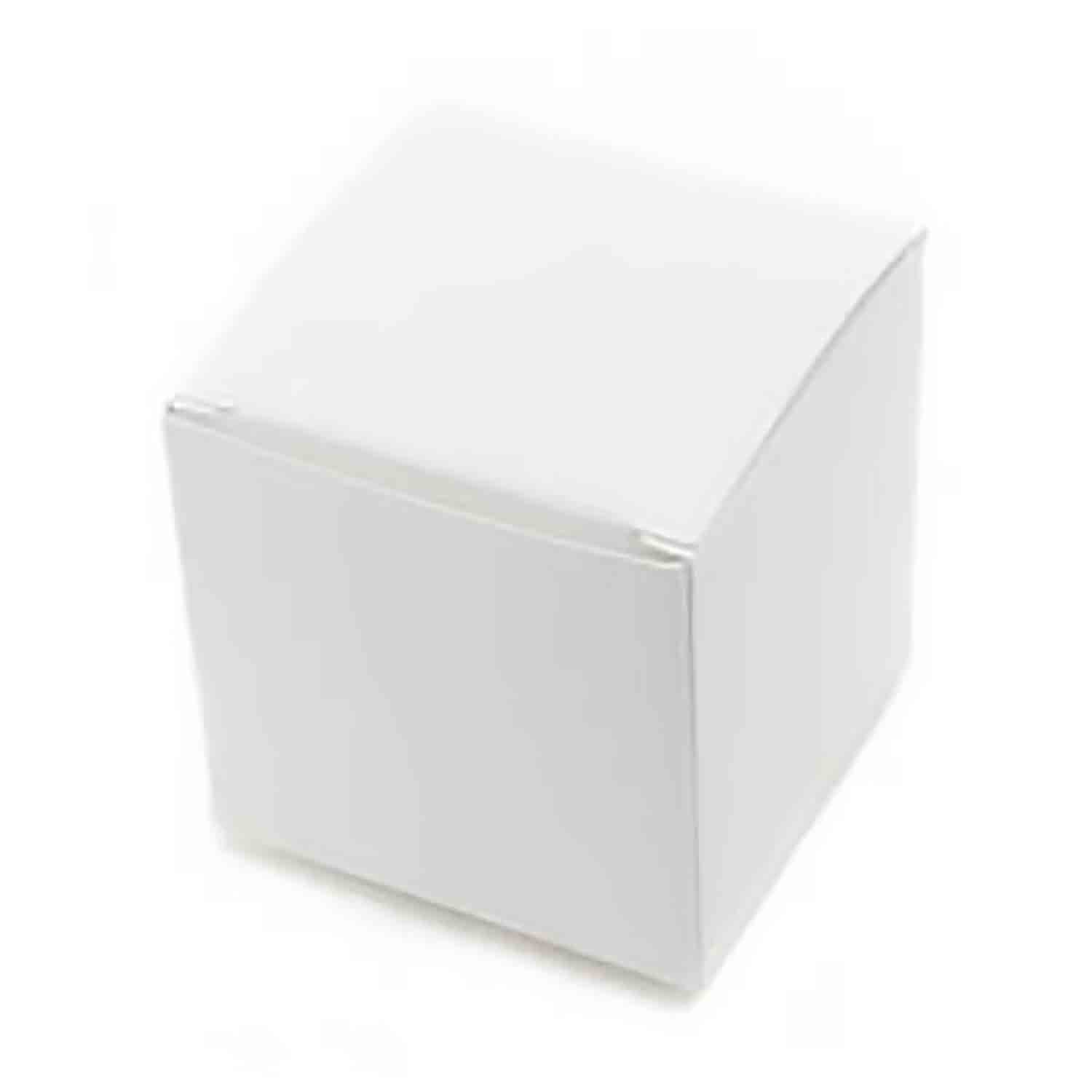 1 Pc. White Large Truffle Candy Box