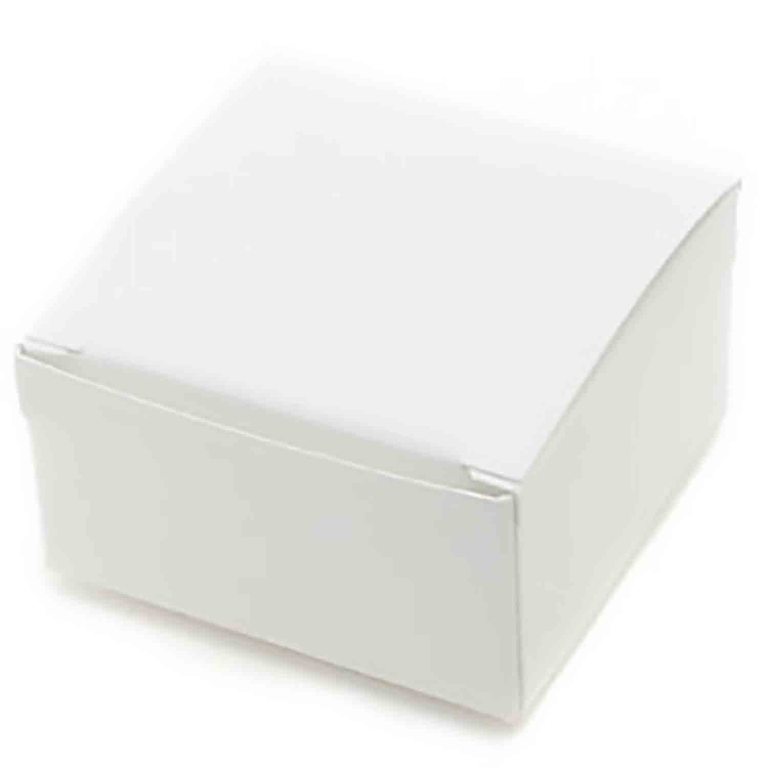 4 Pc. White Candy Box