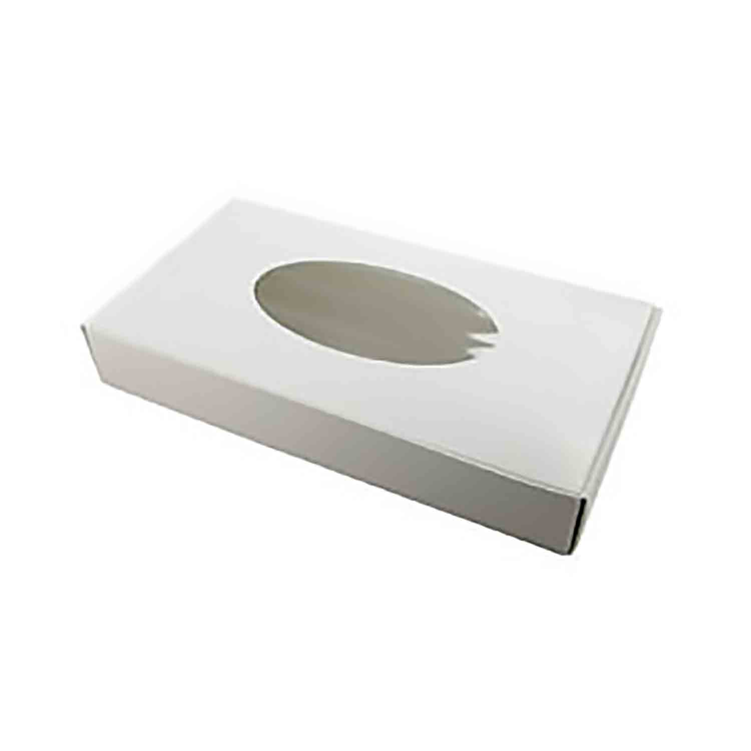 1 lb. White Candy Box with Window