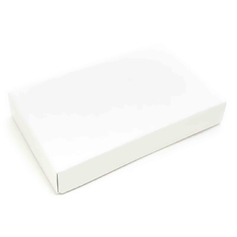 1/2 lb. White Candy Box
