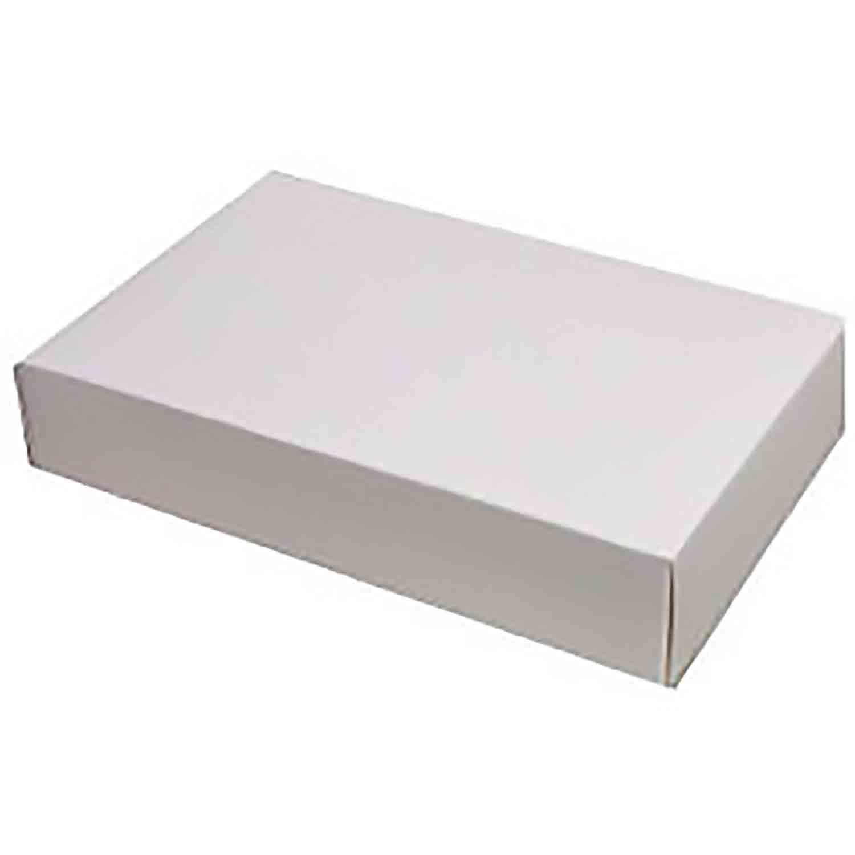 1 lb. White Candy Box