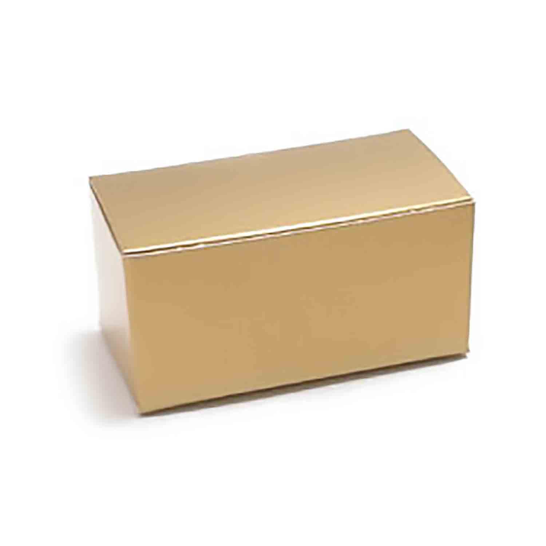 2 Pc. Gold Candy Box