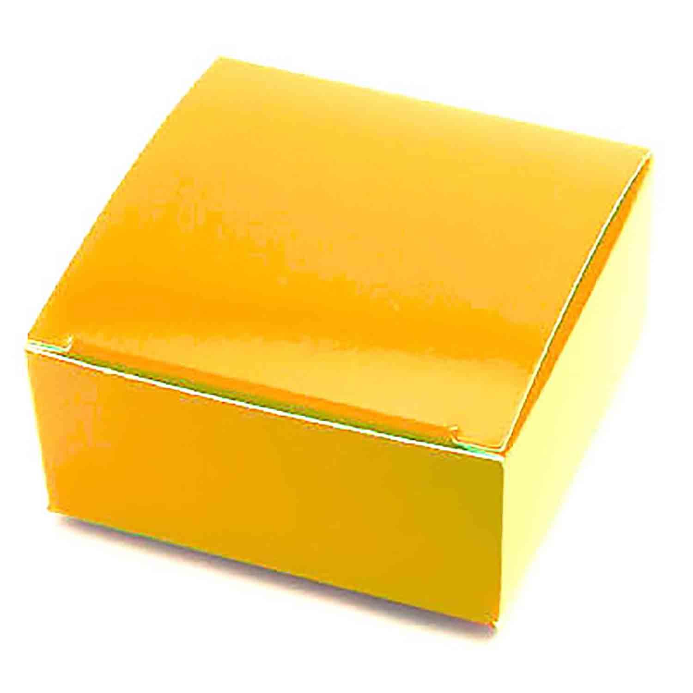 4 Pc. Gold Candy Box