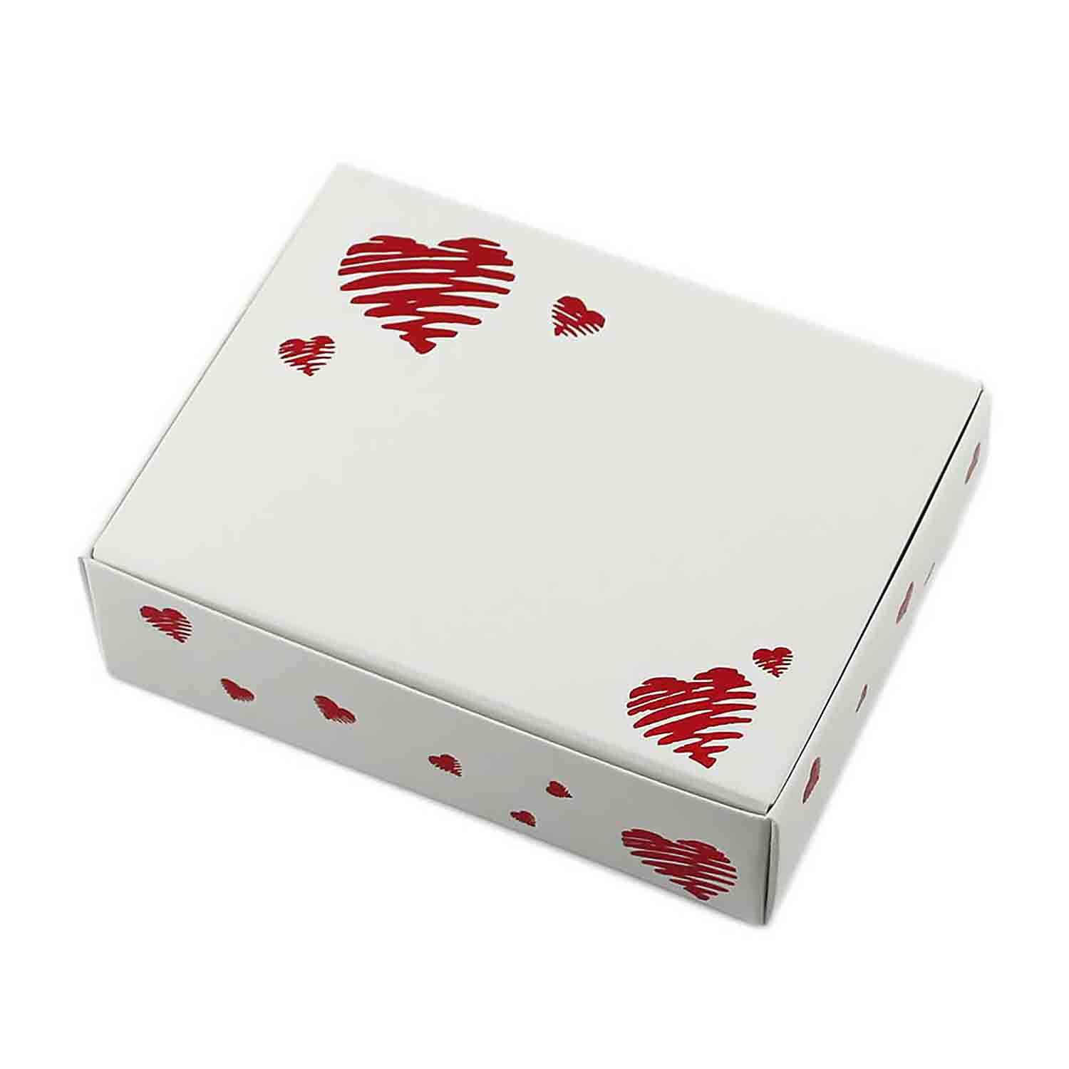 1/4 lb. Heart Print Candy Box