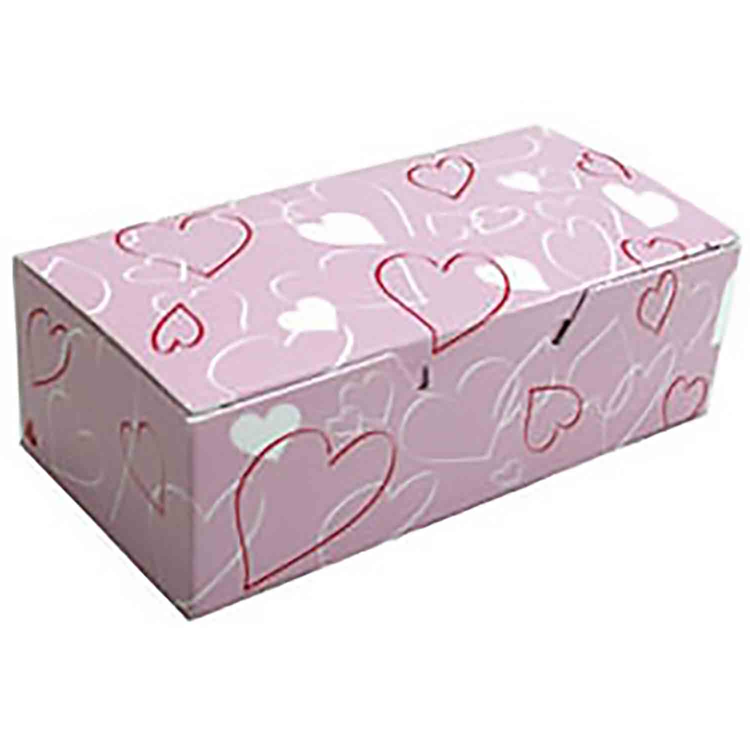 1/2 lb. Entangled Heart Candy Box