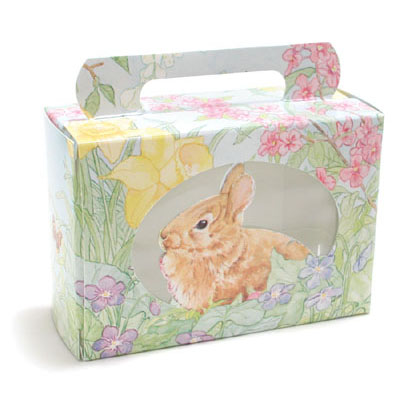 1/2 lb. Easter Garden Tote Candy Box with Window