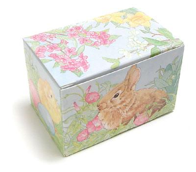 2 lb. Easter Garden Egg Candy Box
