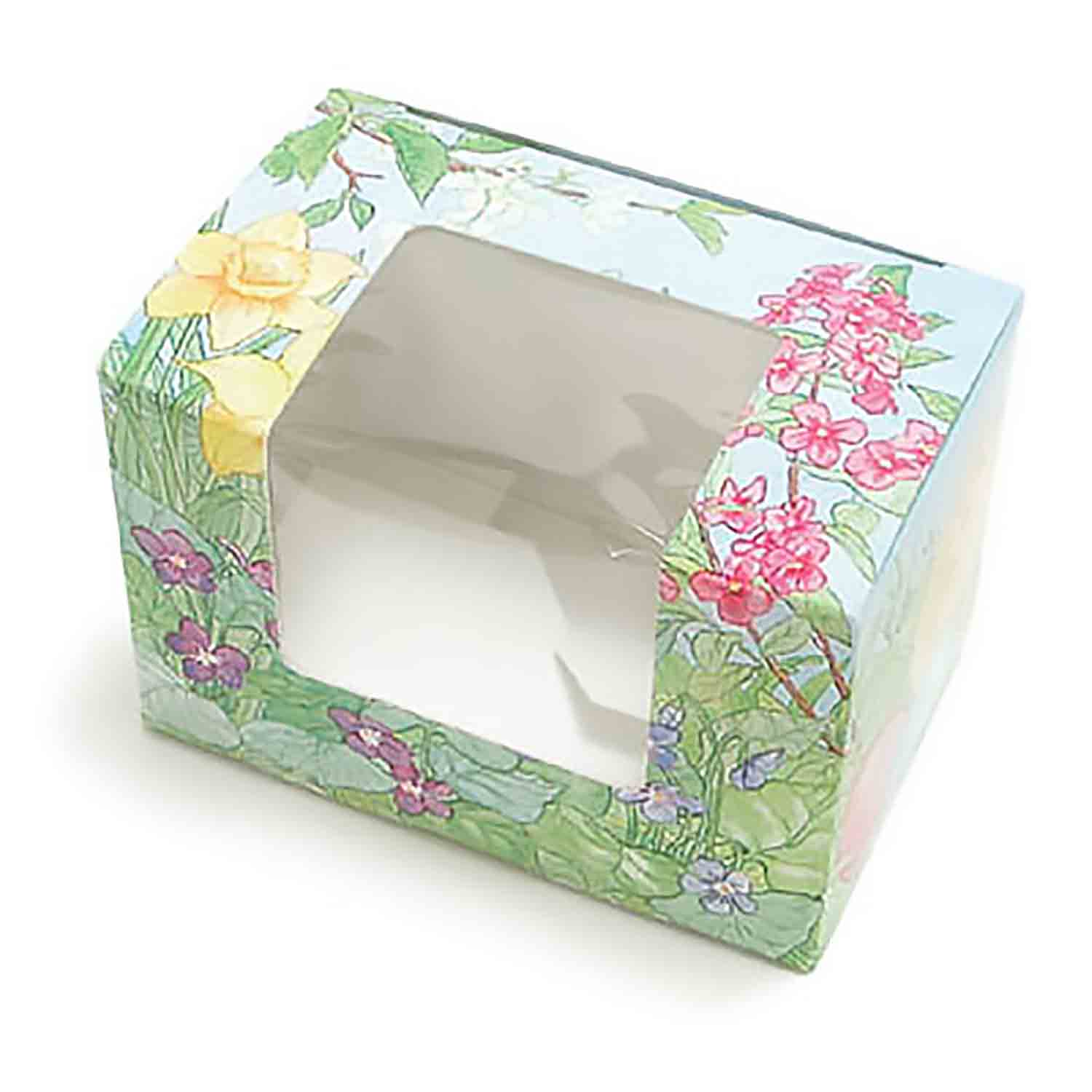 2 lb. Easter Garden Egg Candy Box with Window