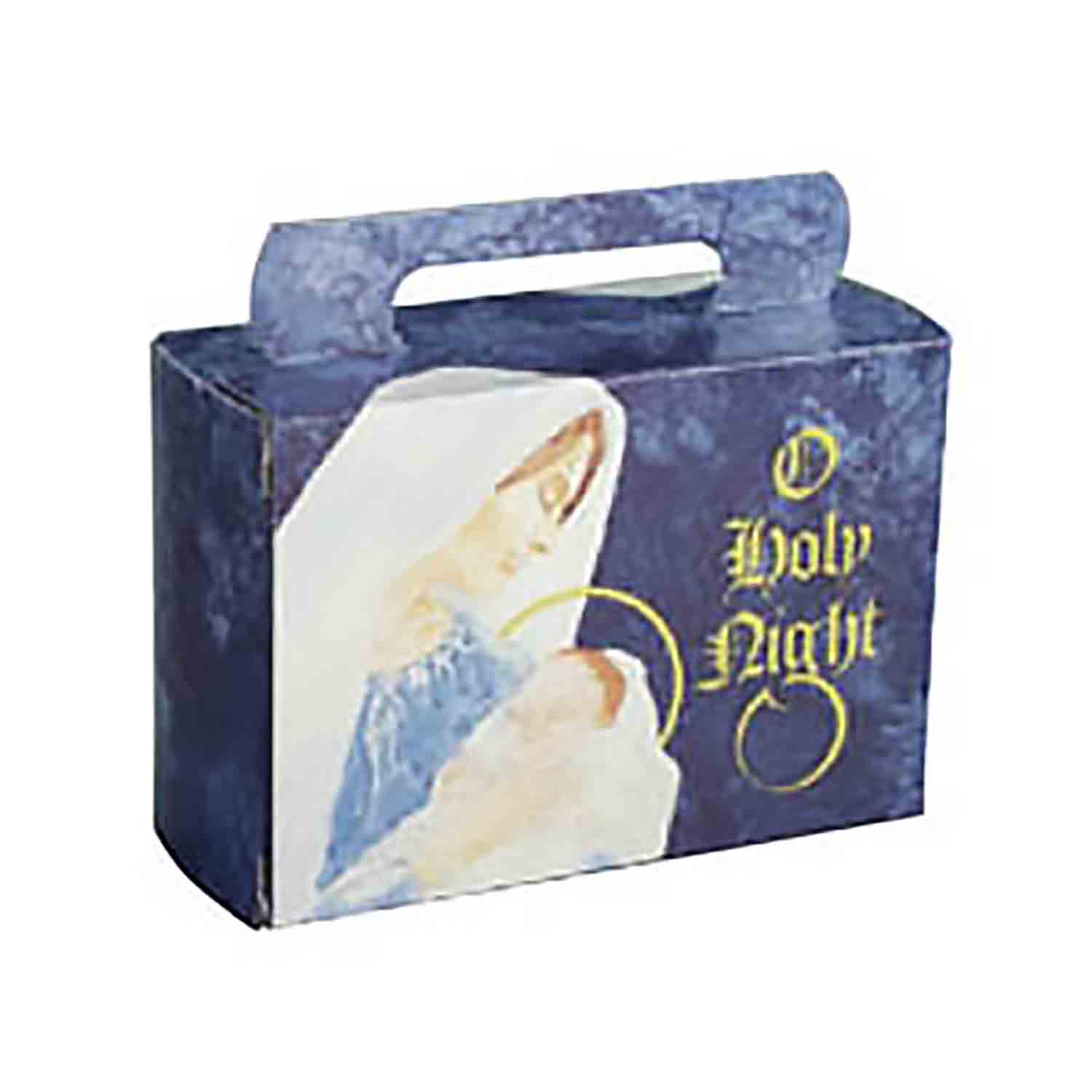 "1/2 lb. ""O Holy Night"" Tote Candy Box"
