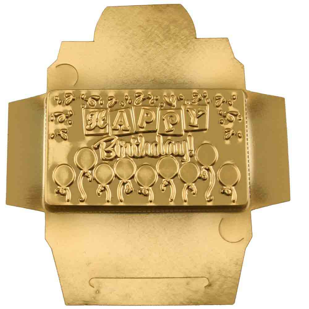 Happy Birthday Candy Bar Mold