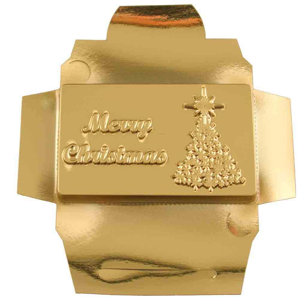 Merry Christmas Candy Bar Mold