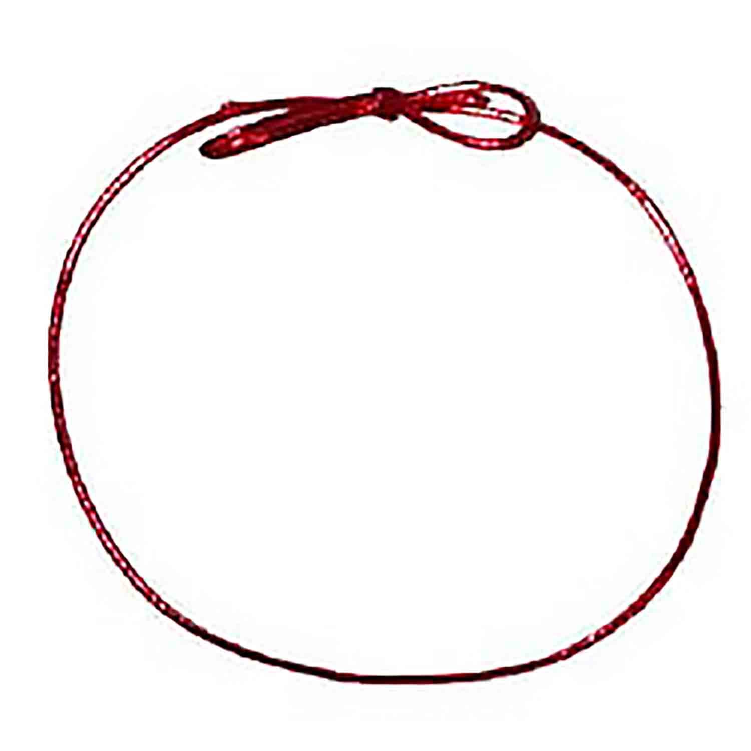 "Stretch Loop 18"" Red/10"
